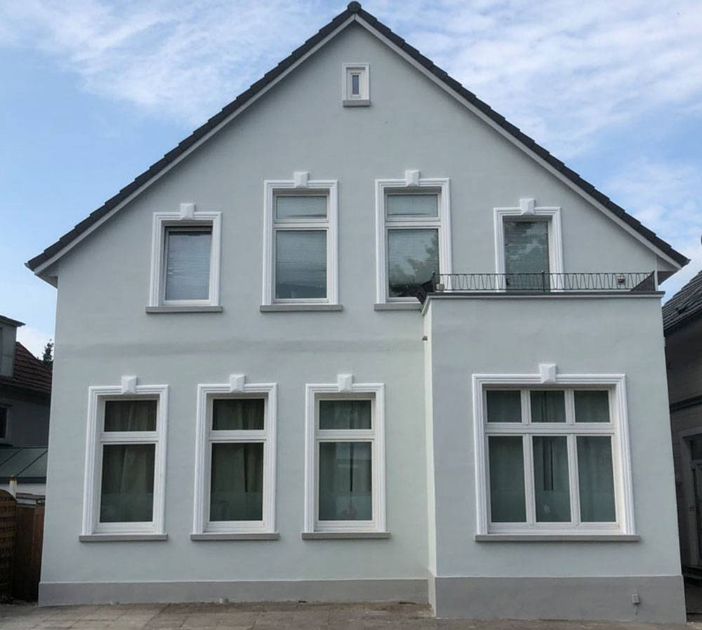 Hausfassade nachher